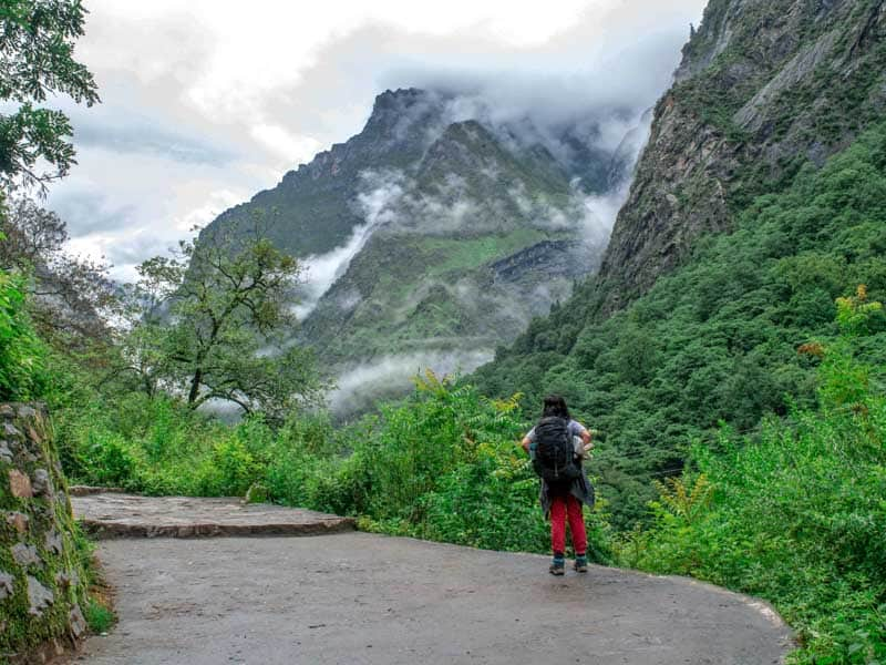 Trek to Ghangaria