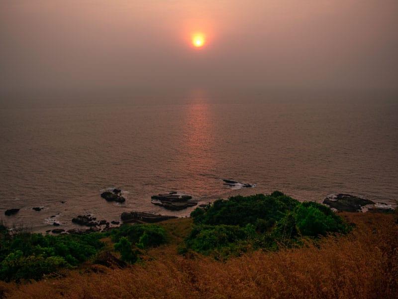 Aguada Fort Sunset