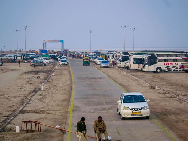 Great Rann of Kutch Entrance
