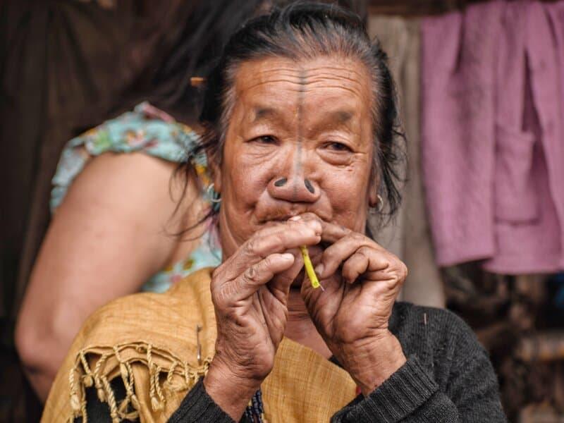 Apatani Woman in Ziro