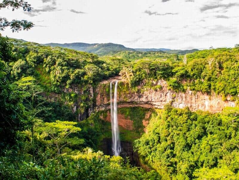 Chamarel Waterfall