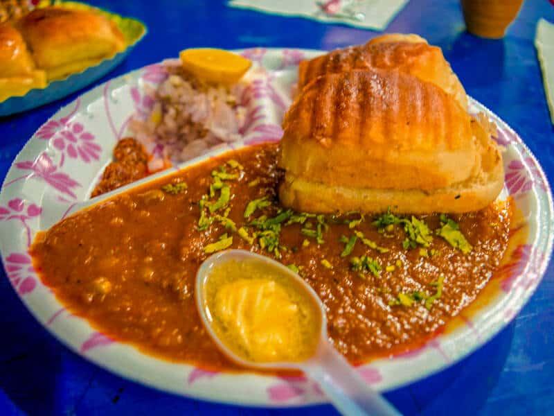 Pav Bhaji at Vinod Fast Food