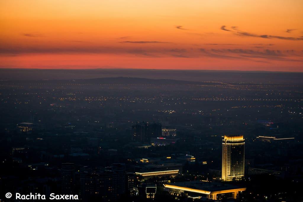 Almaty City Panorama