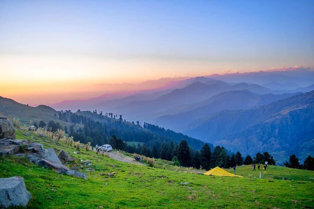 Dhauladhar Range from Prashar
