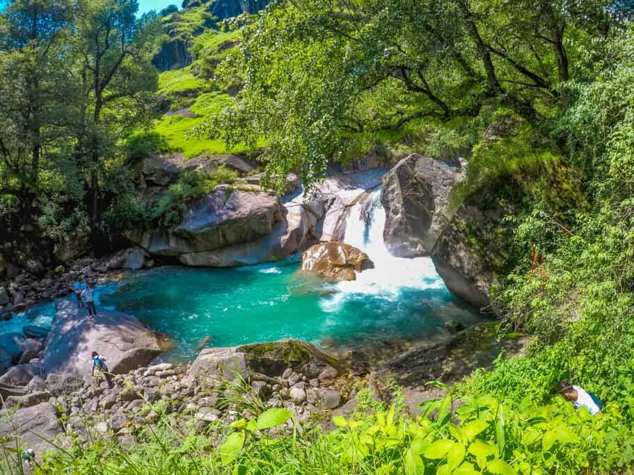 Hippo Falls near GHNP Gate