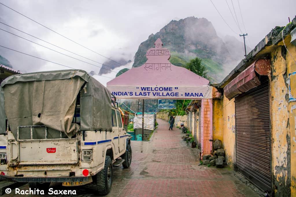 Last Village of India - Mana