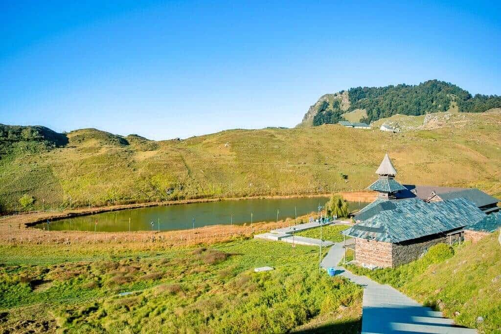 Prashar Lake and Temple