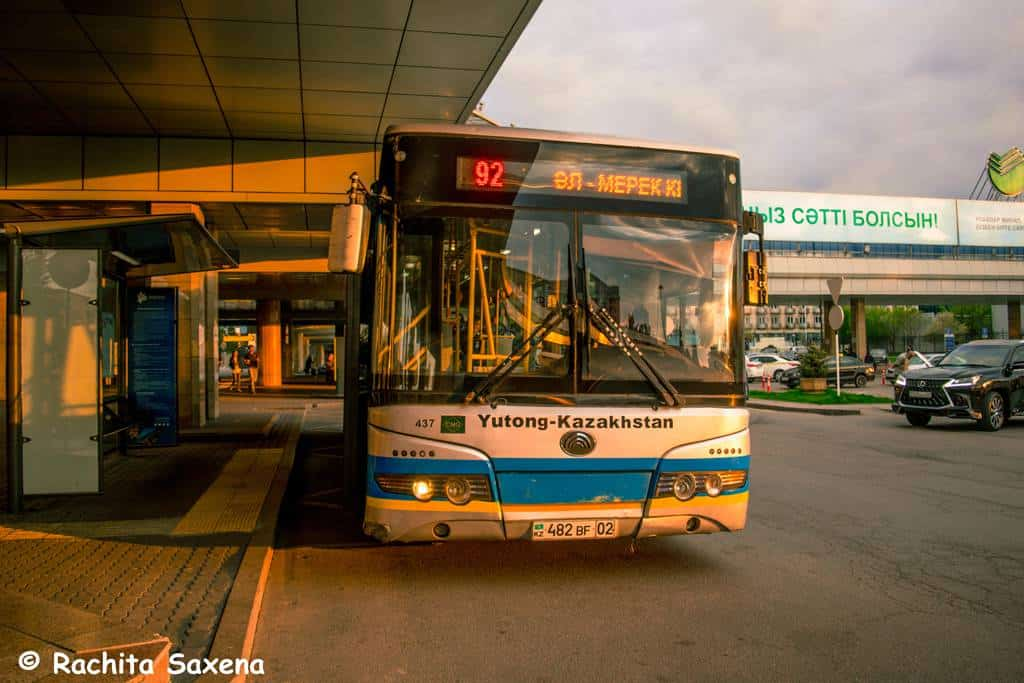 Airport Bus to Almaty City