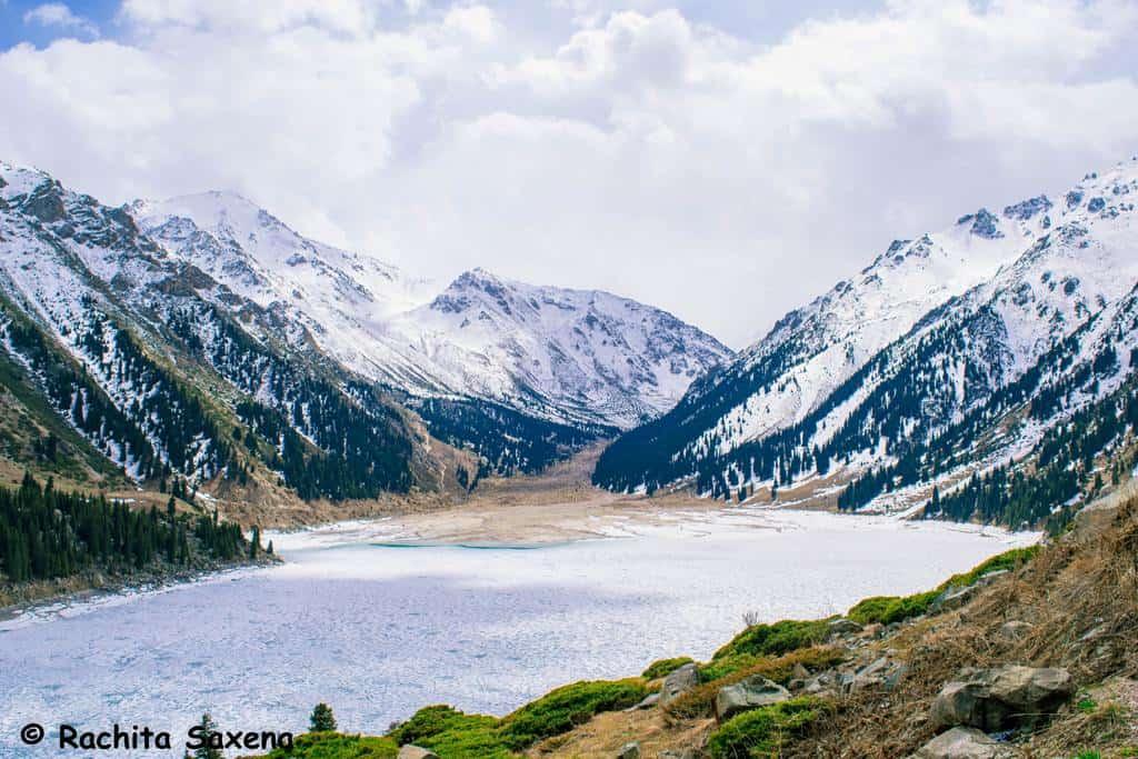Big Almaty Lake in Winters
