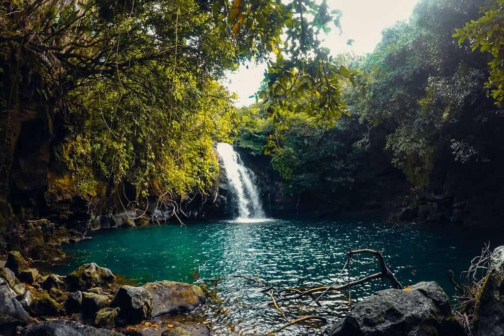 Eau Bleue Falls