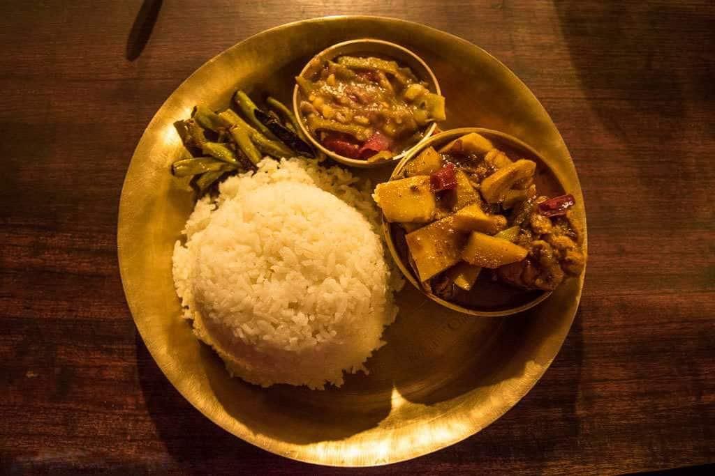 Manipuri Thali, Shillong
