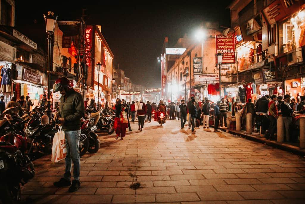 Varanasi Shopping Street