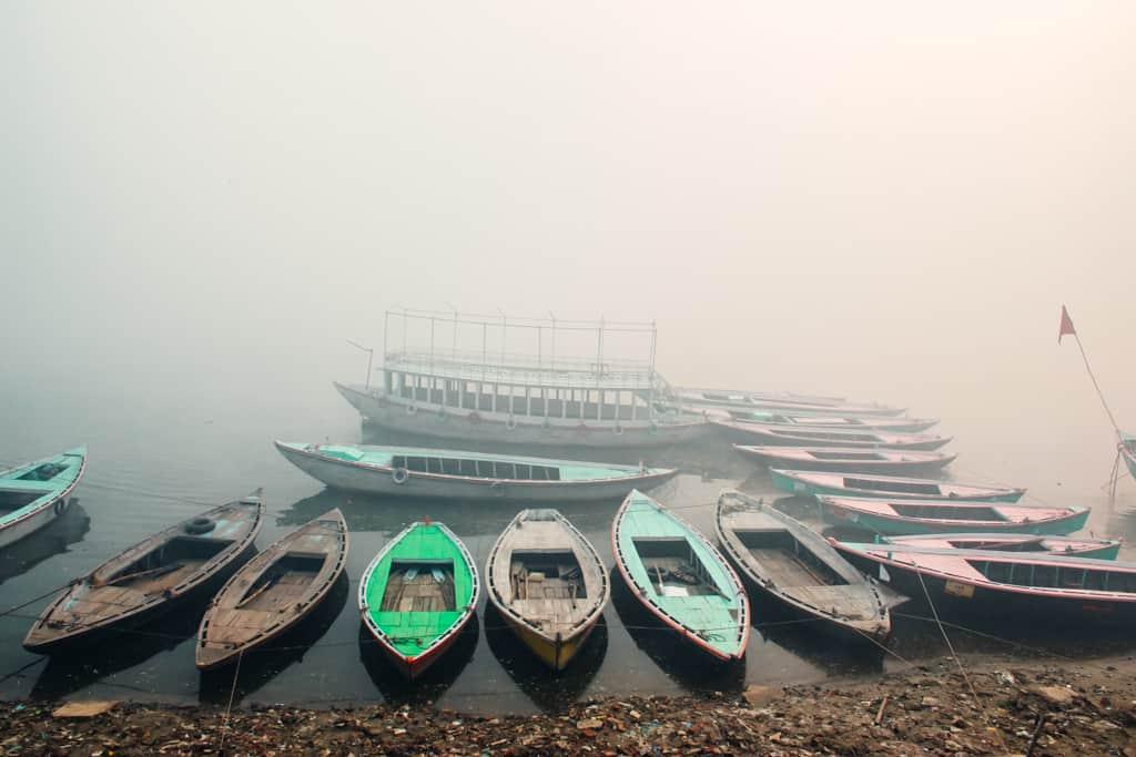 Boating in Varanasi