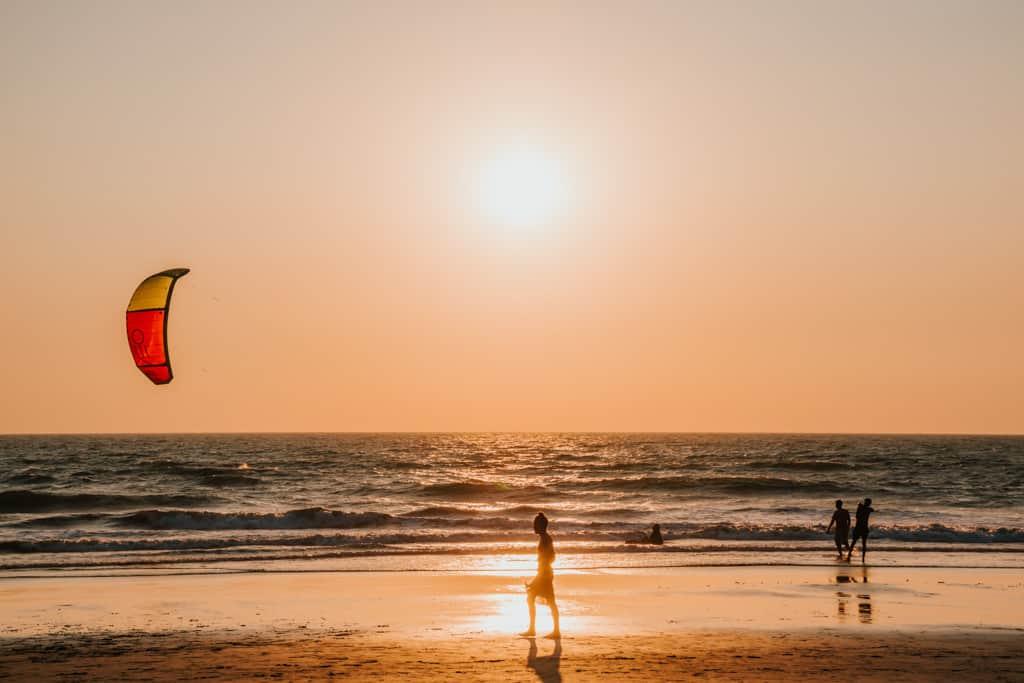Kite Surfing in Goa
