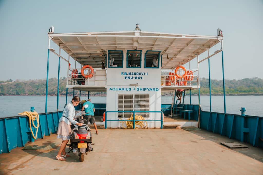 Ferries in Goa