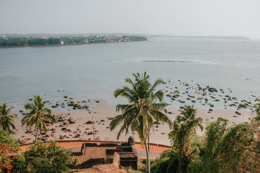 View from Reis Magos Fort