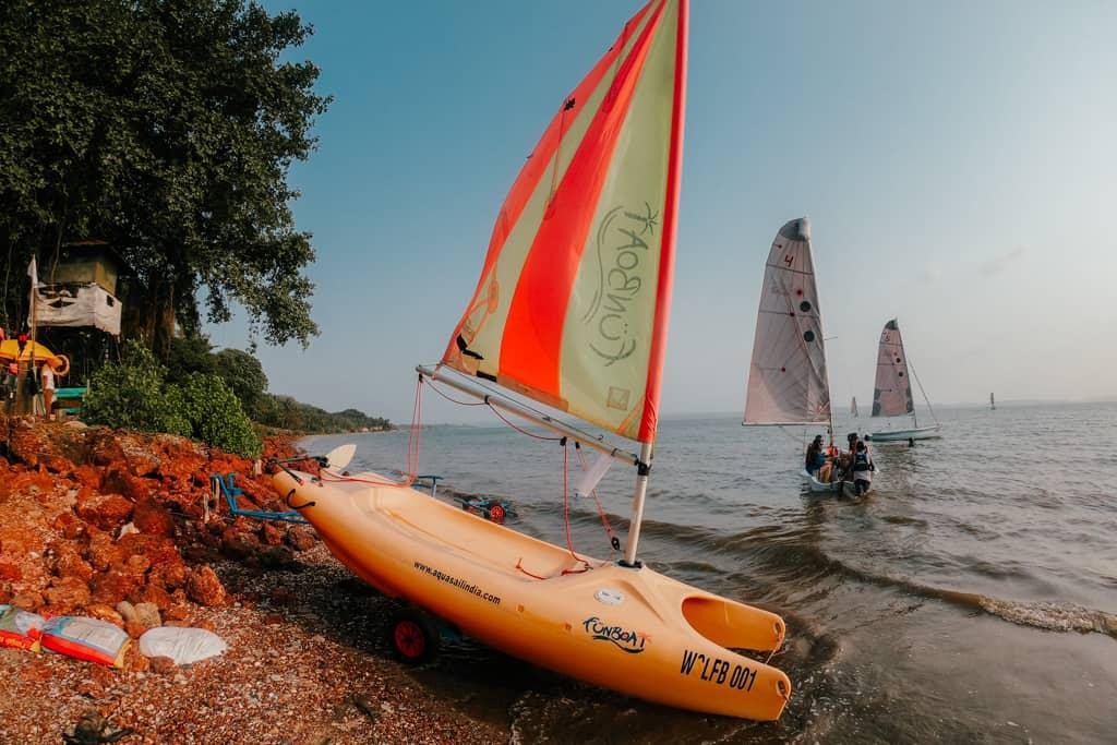 Sailing in Goa